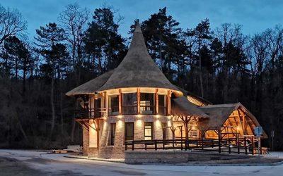 Tamási látogatóközpont: látványtervből valósággá